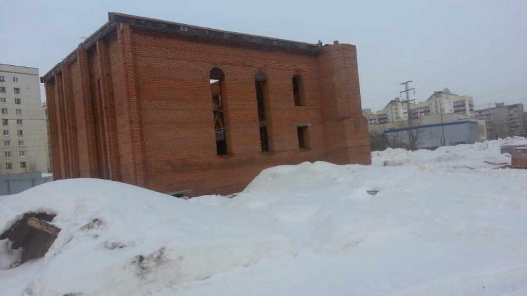 Строительство мечети Махалля Фатиха